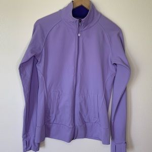 Tuff Athletics   Full Zip   Purple   Medium
